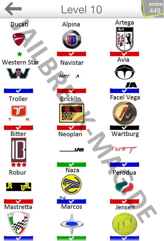 Auto Logo Quiz http   ...