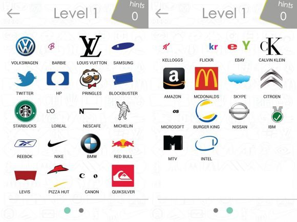 Level 1 von Logo Quiz Game Screenshot