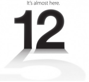 iPhone 5 Keynote 2012