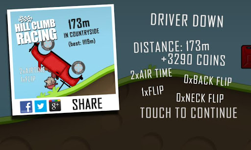 Rekorde in Hill Climb Racing