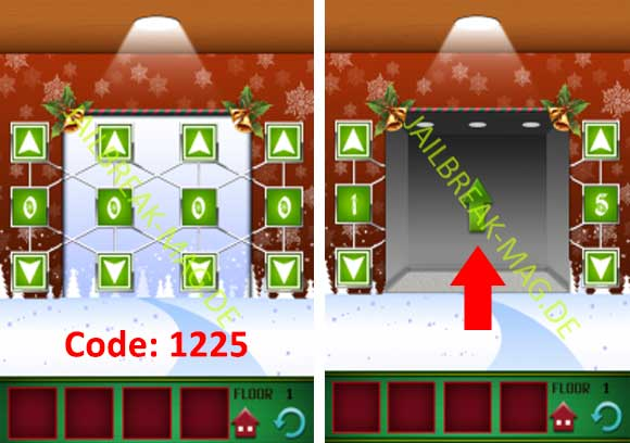100 Floors Christmas Tower Level 1 2 3 4 5 6 7