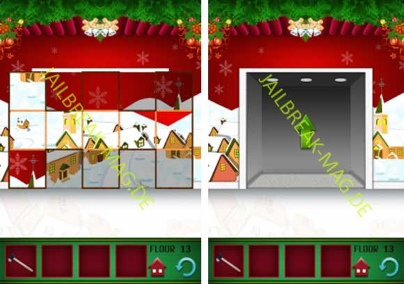 100 Floors Christmas Tower Level 8 9 10 11 12 13 14