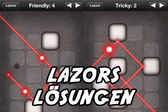 Lazors App Lösung