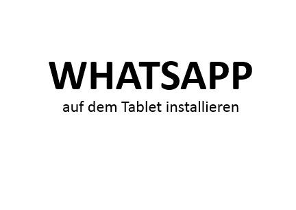 android apps auf tablet installieren