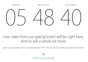 iPhone 6 Keynote Live Stream am 9.9.2014
