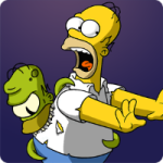 UFOs und Grem-Aliens in Treehouse of Horror 2014 Event zu Halloween (Bild: EA Mobile)