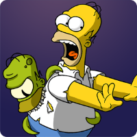 Das Treehouse of Horror 2014 Event zu Halloween ist da! (Bild: EA Mobile)