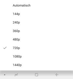 Youtube App Qualität Dauerhaft Einstellen