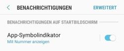 Android rote Zahl bei App deaktivieren