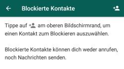 WhatsApp trotz Blockierung schreiben: Geht das