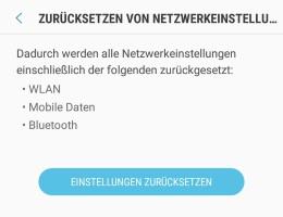 Kein Netz nach Android Oreo Update