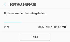 Android Update Abbrechen