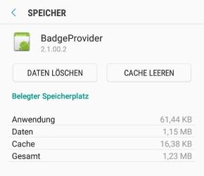 Android rote 1 geht nicht weg (WhatsApp, Instagram