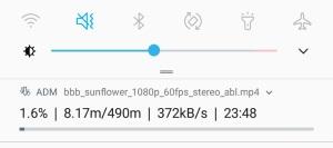 Android Downloadgeschwindigkeit