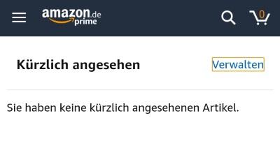 Bestellung Löschen Amazon App