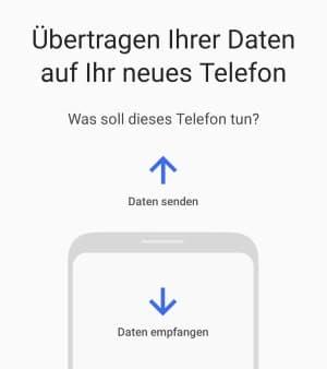 iPhone auf Galaxy S10 übertragen